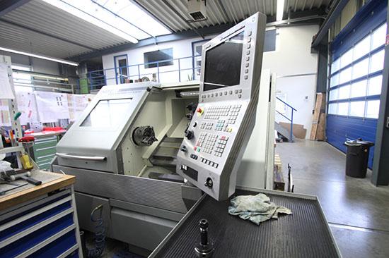 NEF 400 Dreh Maschinen